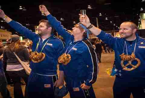 The Great American Beer Festival in Denver, Colorado
