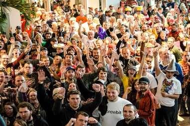 The Great American Beer Festival in Denver, Colorado