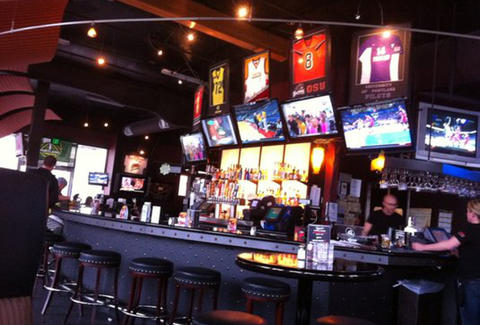 Interior at On Deck Sports Bar