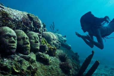Grenada's Underwater Sculpture Park, Grenada