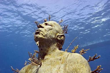 Museo Subacuatico de Arte, Cancun, Mexico