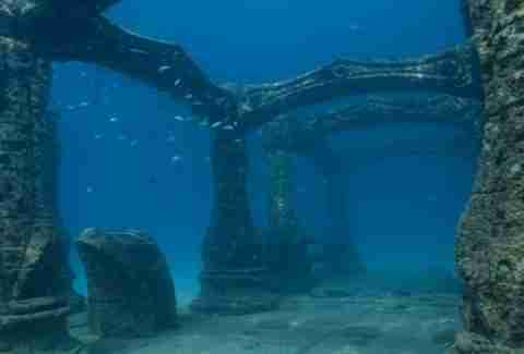 Underwater City of Port Royal, Kingston, Jamaica