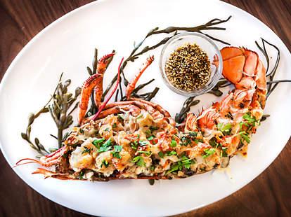 Sea and Smoke lobster thermidor del mar california