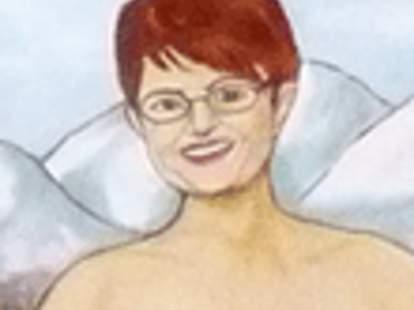Nude Sarah Palin Painting - Entertainment - Thrillist Chicago