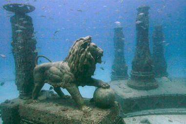 Neptune Memorial Reef, Key Biscayne, FL