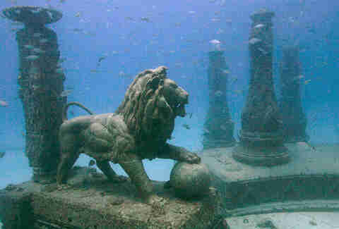 Neptune Memorial Reef, Key Biscayne, FL
