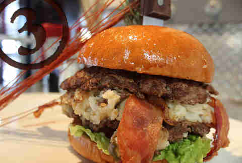 hash house a go go burger mashed potato bacon cheddar san diego