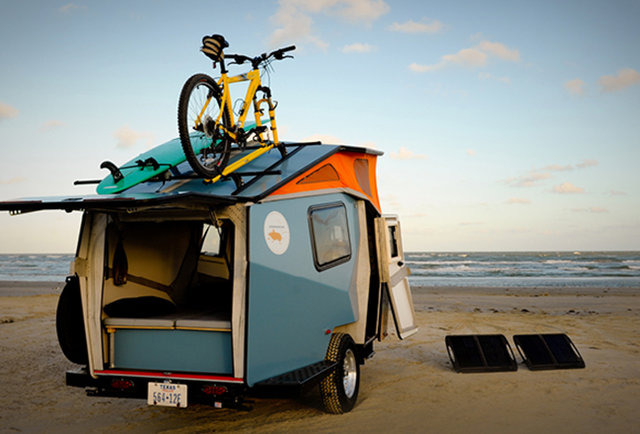 This insect-inspired trailer was designed by a NASA architect