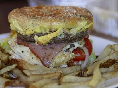 Stanich's portland burger