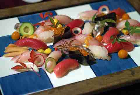 The sushi at Shunji