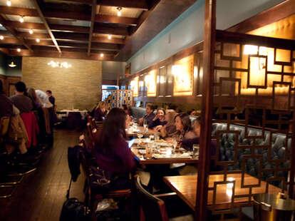 Inside of Bouligny Tavern