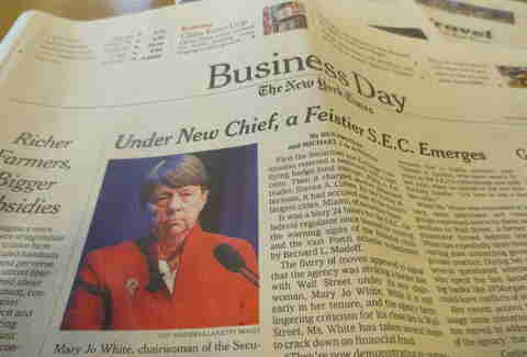 The New York Times' Business Day