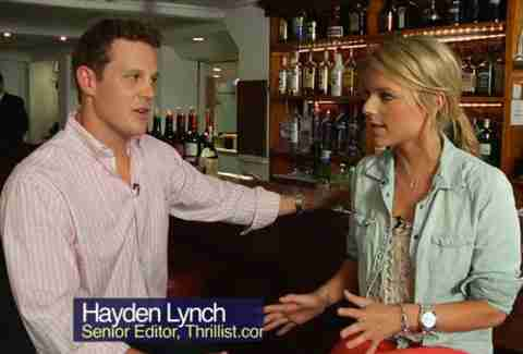 Hayden Lynch and Ali Fedotowsky