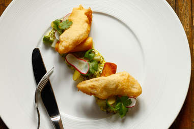 Dish from Kevin Sbraga's restaurant
