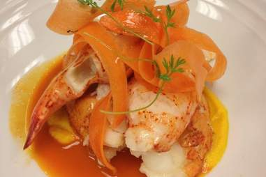 a lobster dish by Tamesha Warren