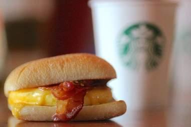 Starbuck's Artisanal Breakfast Sandwich