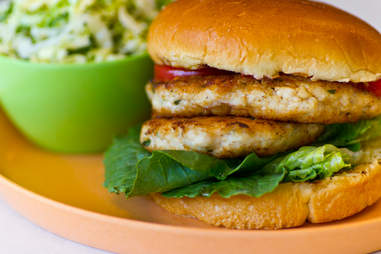 Chick-a-Biddy - Blackened chicken burger