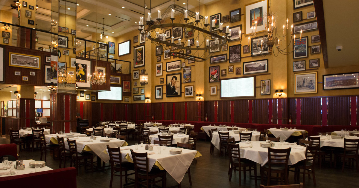 Italian Restaurants In Nyc: NYC's Legendary Italian Restaurant At The