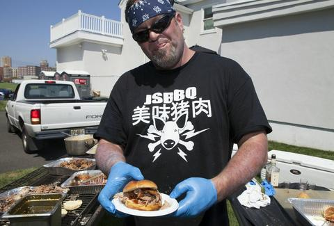 Jersey Shore BBQ Dude