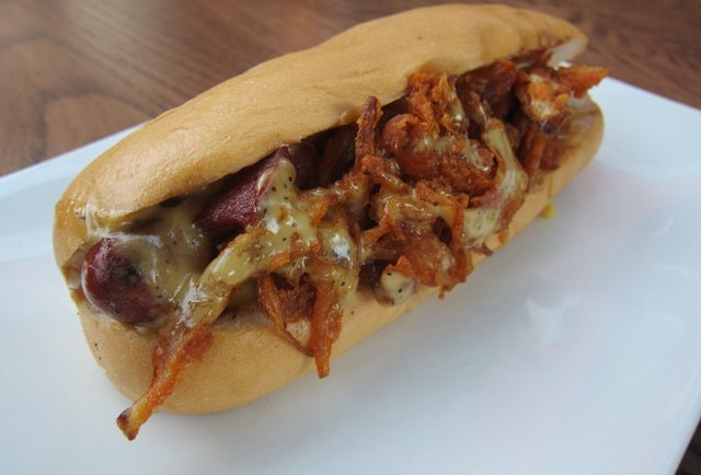 All people rejoice: the Umami hot dog is here