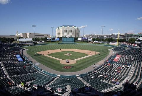 The Frisco RoughRiders' stadium