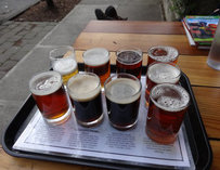 Beer Sampler at Fifth Quadrant