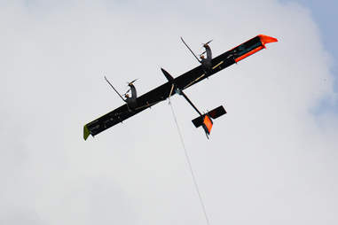 A Makani turbine kite in action