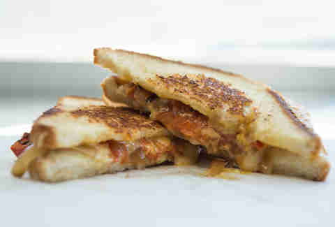 The Sammich Truck Grilled Cheese