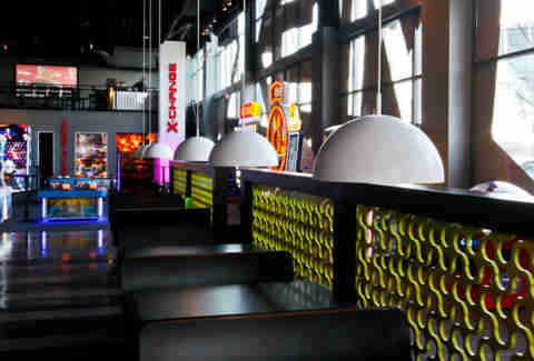 Game-X interior -- Atlanta