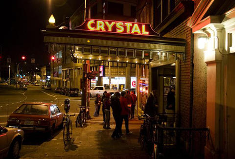 Exterior at Crystal Ballroom