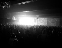 Crowd at Crystal Ballroom