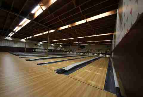 Town Hall Lanes in Minneapolis, Minnesota.