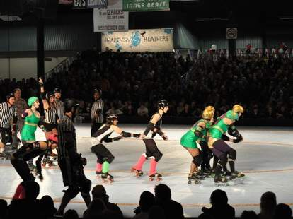 Rose City Rollers Game -- Portland