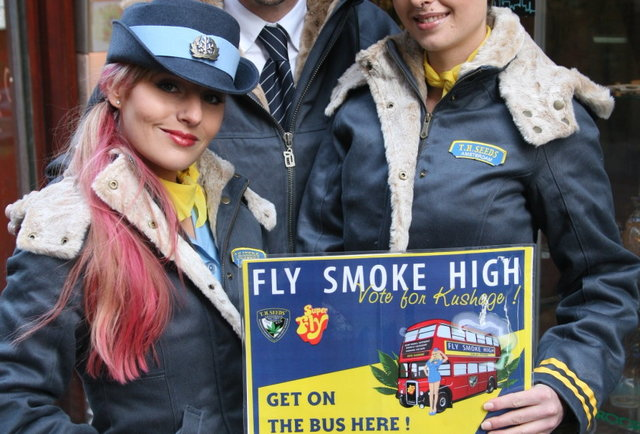 Travel to Amsterdam for the 2013 Cannabis Cup