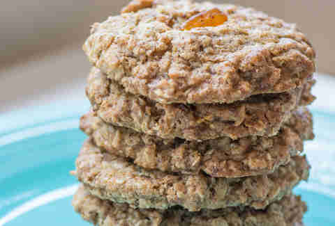 Oatmeal chili mango macadamia cookies at Cookie Bar in Ravenswood