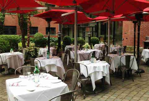 Patio at Cinquecento