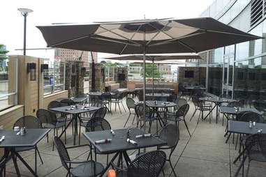 Patio at MJ O'Connor's Waterfront