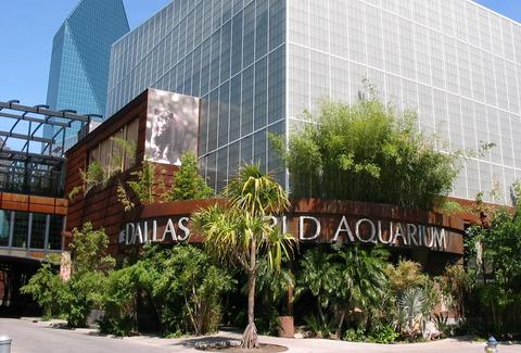 Dallas World Aquarium entrance