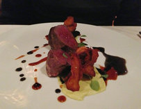 Pan Seared Elk Loin at Genoa