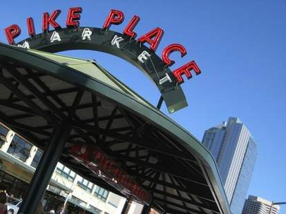 Pike Place Market Exterior -- Seattle