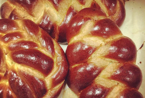 Challah bread at Acme Bakery & Coffee in Miami, FL