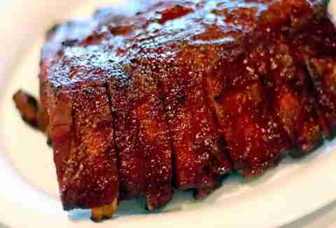 chipotle glazed ribs