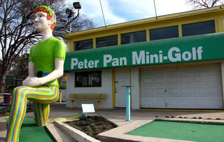 Peter Pan Mini-Golf