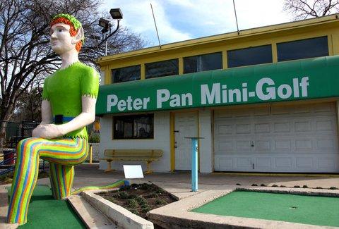 Peter Pan Mini Golf A Austin Tx Venue