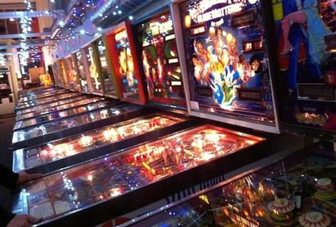 Seattle Pinball Museum Interior -- Seattle