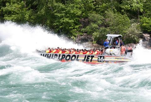 Whirlpool Jet Boat Locations