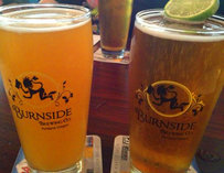 Beers at Burnside Brewing Co.