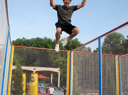 Trampolines at the Big Thrill Factory