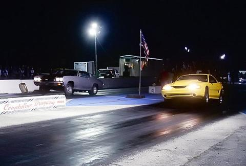 Countyline Dragway racing -- Miami