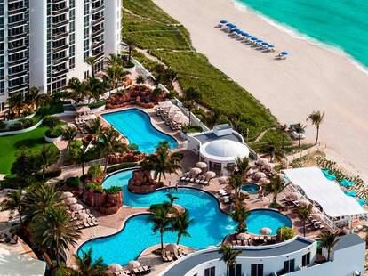 Pool at Trump International Beach Resort in Miami, FL